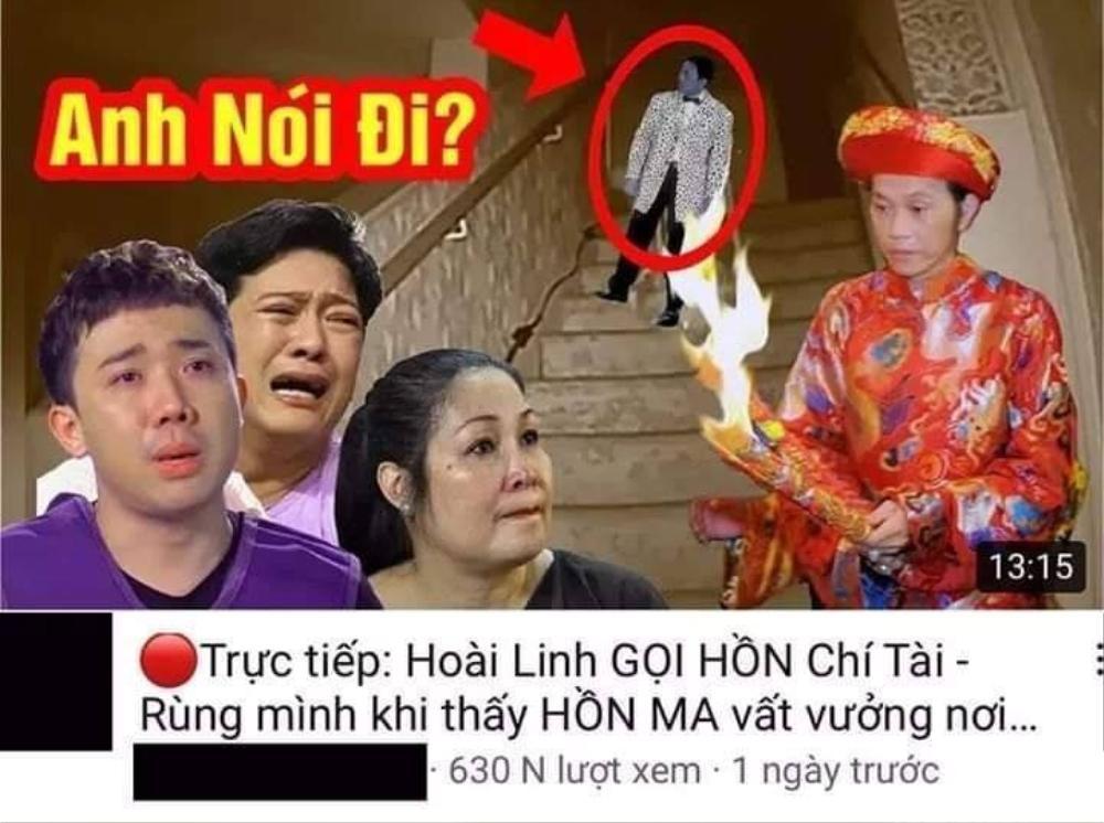 Sau cố nghệ sĩ Chí Tài, YouTube tiếp tục tràn ngập video giả tang lễ Vân Quang Long Ảnh 9