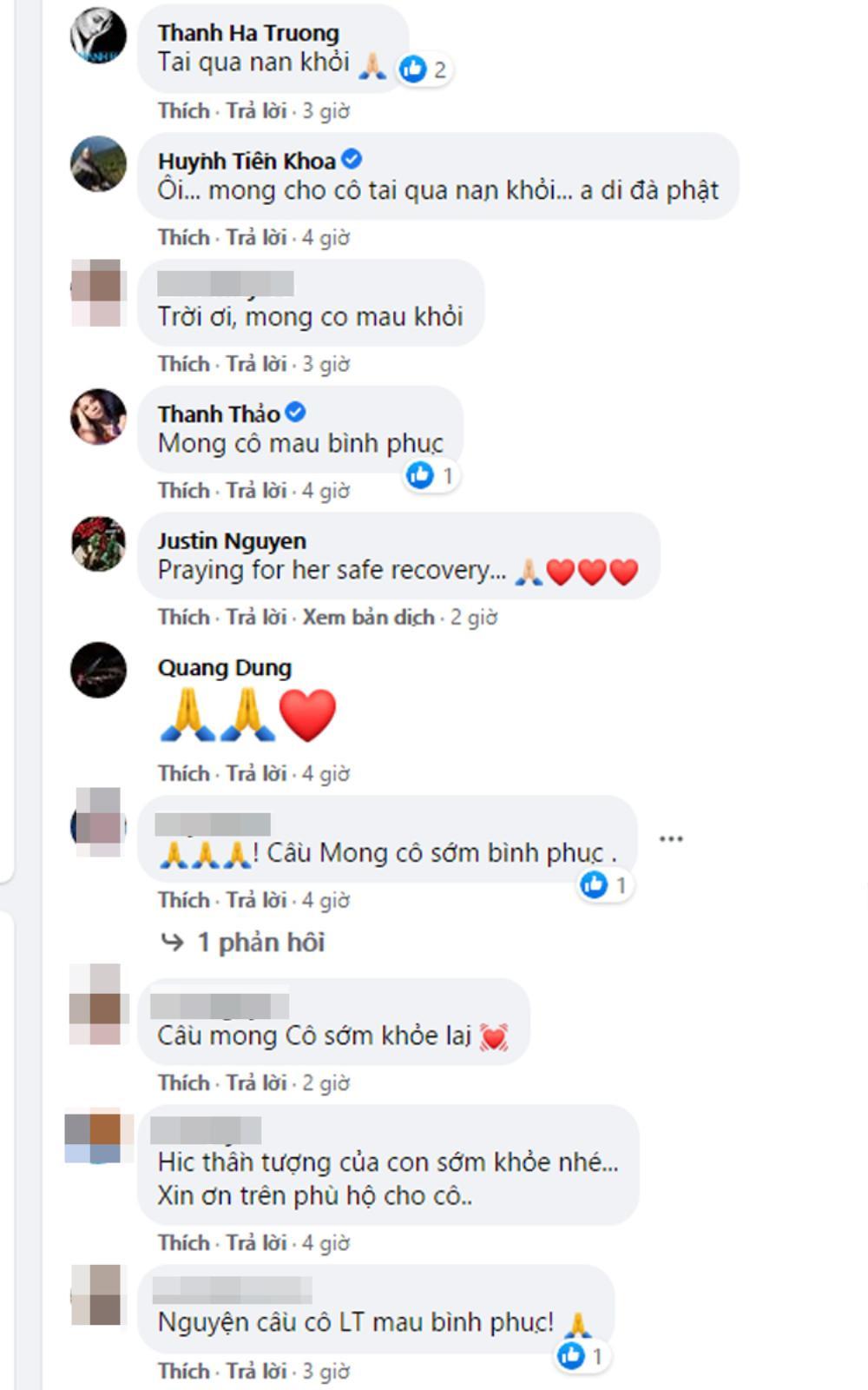 Sao Việt lo lắng cầu bình an cho danh ca Lệ Thu đang nằm viện điều trị COVID-19 ở Mỹ Ảnh 3