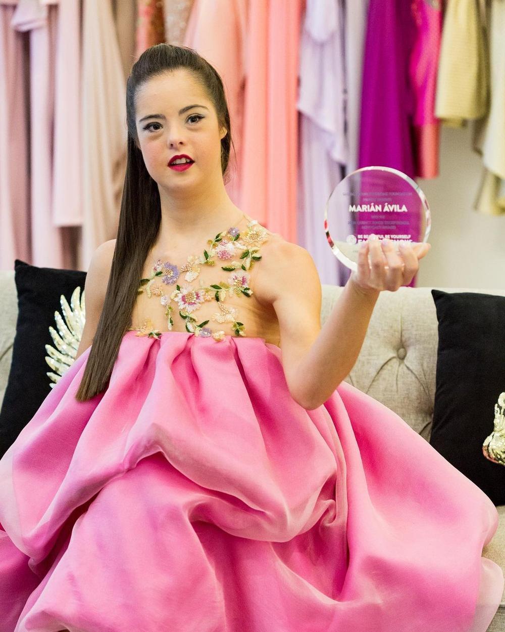 Cô gái Tây Ban Nha mắc hội chứng Down trở thành người mẫu Ảnh 7