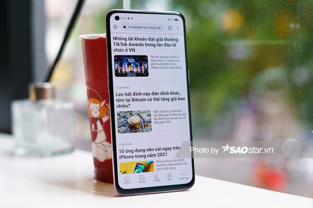 Mở hộp 'tân binh' smartphone tầm trung OPPO Reno5 ở Việt Nam Ảnh 10