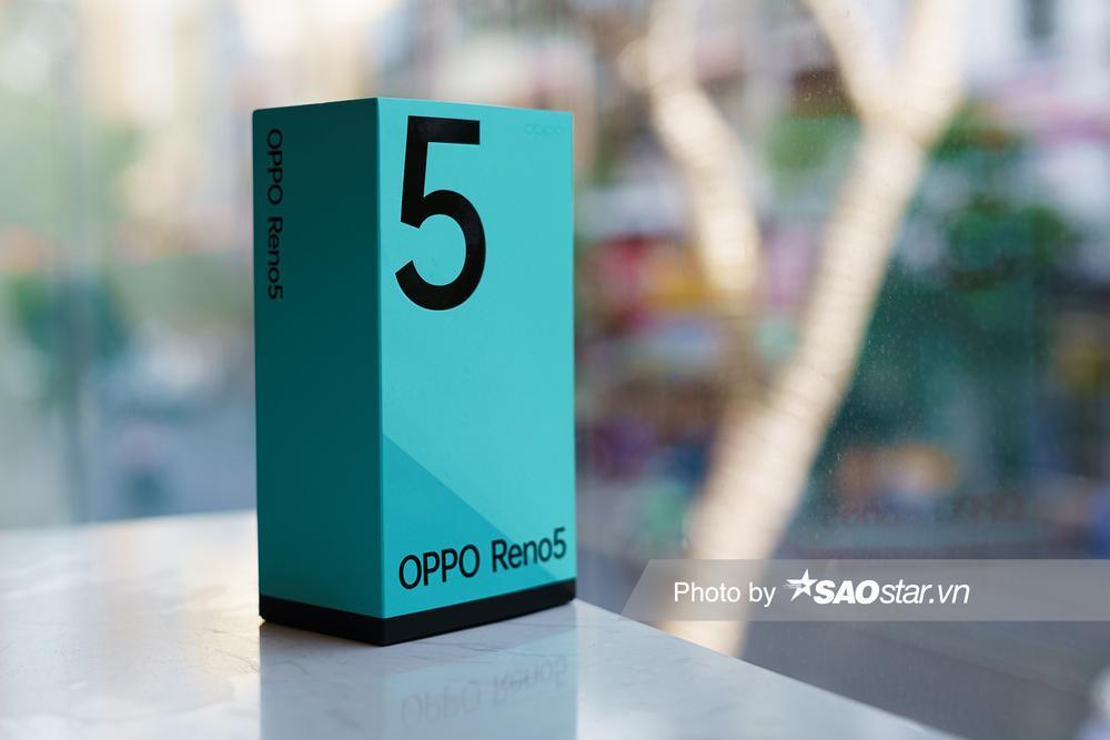Mở hộp 'tân binh' smartphone tầm trung OPPO Reno5 ở Việt Nam Ảnh 1