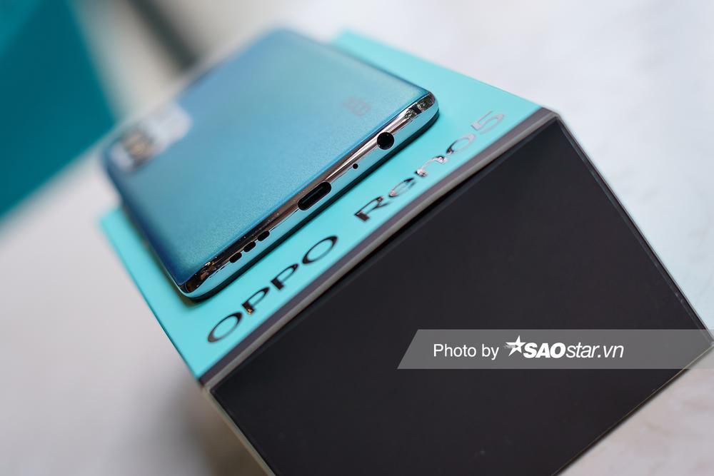 Mở hộp 'tân binh' smartphone tầm trung OPPO Reno5 ở Việt Nam Ảnh 9