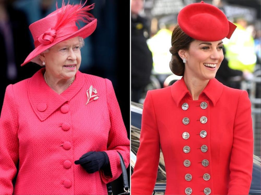 Kate Middleton học tập gu thời trang của Nữ hoàng Elizabeth II Ảnh 4