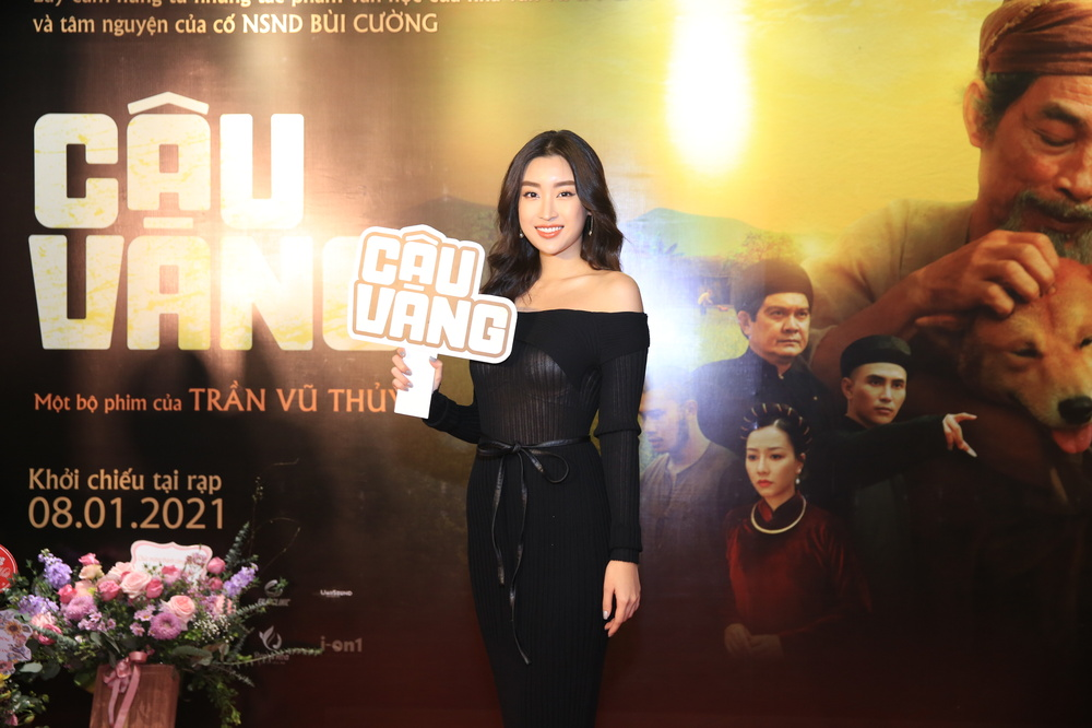 Hoa hậu Đỗ Mỹ Linh đọ sắc Châu Bùi, ông cháu Cậu Vàng chiếm trọn 'spotlight' trong họp báo ra mắt phim Ảnh 6