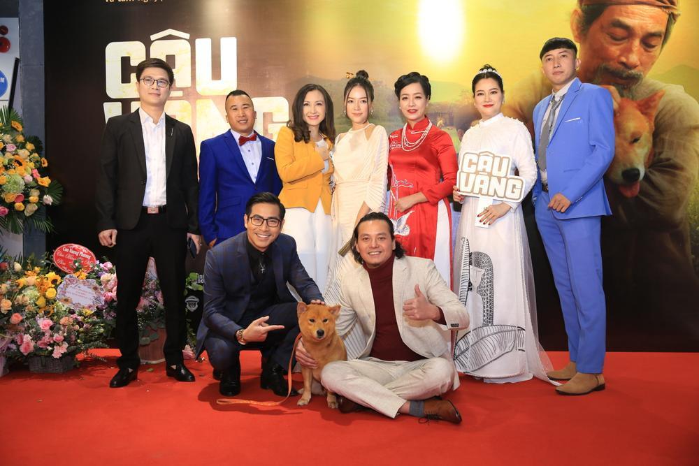 Hoa hậu Đỗ Mỹ Linh đọ sắc Châu Bùi, ông cháu Cậu Vàng chiếm trọn 'spotlight' trong họp báo ra mắt phim Ảnh 32