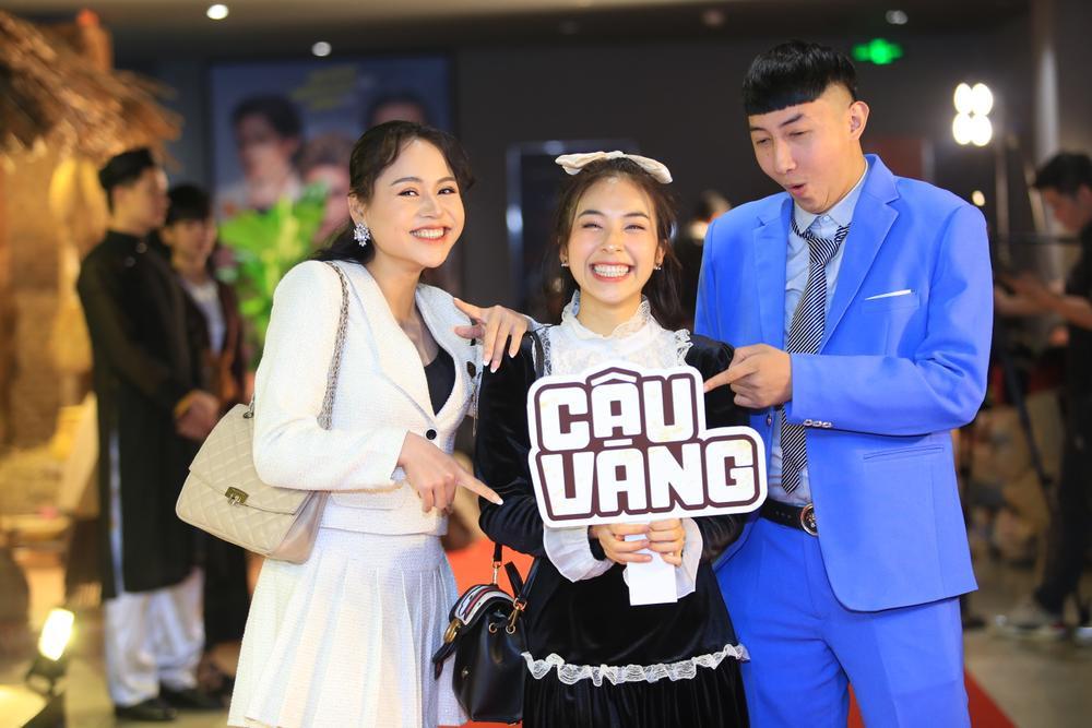 Hoa hậu Đỗ Mỹ Linh đọ sắc Châu Bùi, ông cháu Cậu Vàng chiếm trọn 'spotlight' trong họp báo ra mắt phim Ảnh 16