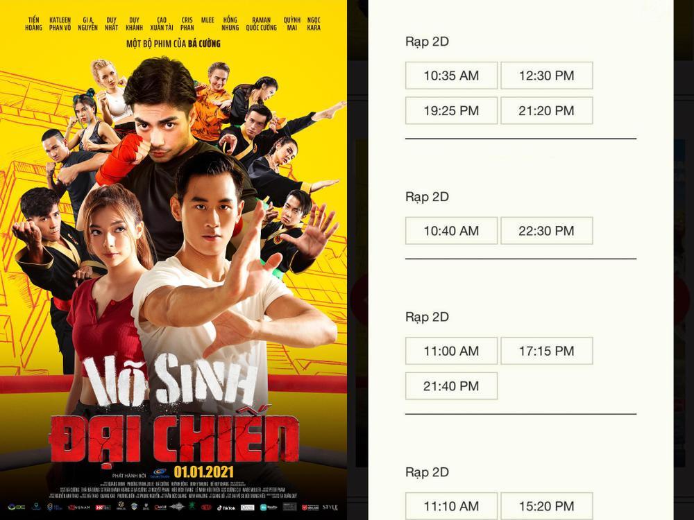 NSX 'Võ sinh đại chiến' tuyên bố rút phim sau 3 ngày ra mắt vì bị 'chèn ép suất chiếu' tại rạp Việt Ảnh 4