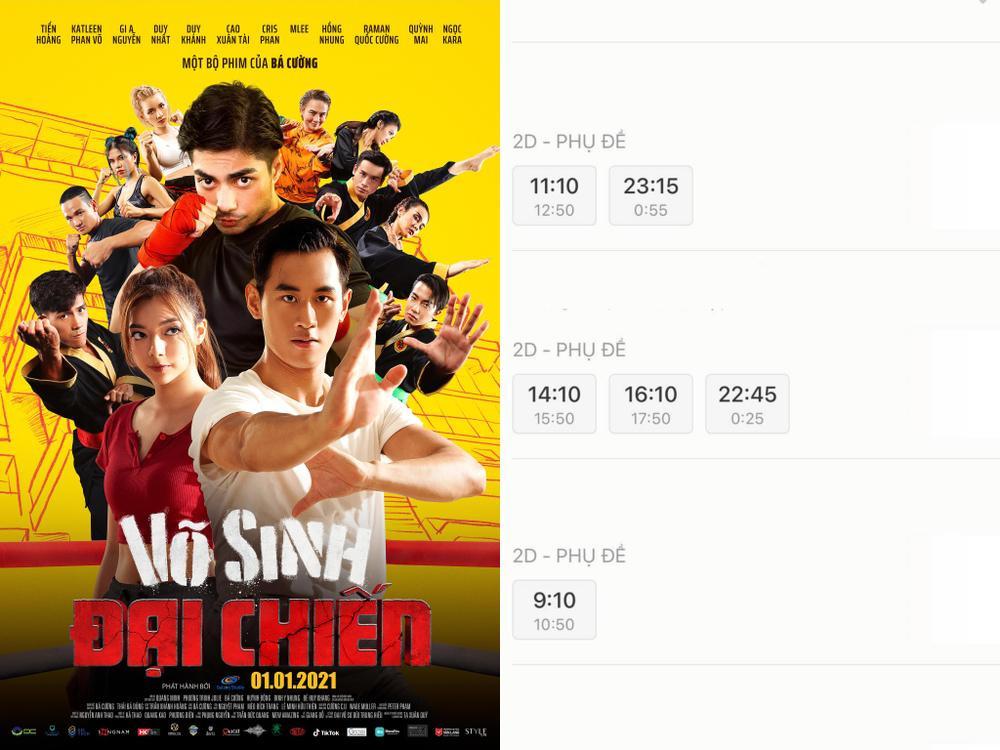 NSX 'Võ sinh đại chiến' tuyên bố rút phim sau 3 ngày ra mắt vì bị 'chèn ép suất chiếu' tại rạp Việt Ảnh 3