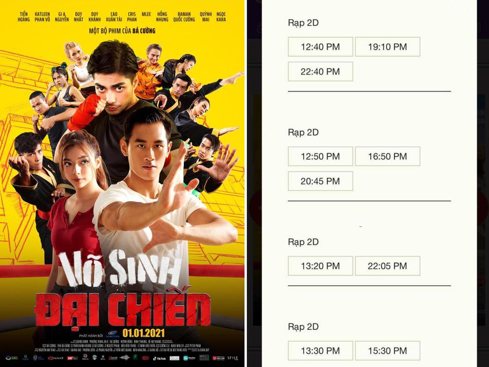NSX 'Võ sinh đại chiến' tuyên bố rút phim sau 3 ngày ra mắt vì bị 'chèn ép suất chiếu' tại rạp Việt Ảnh 2