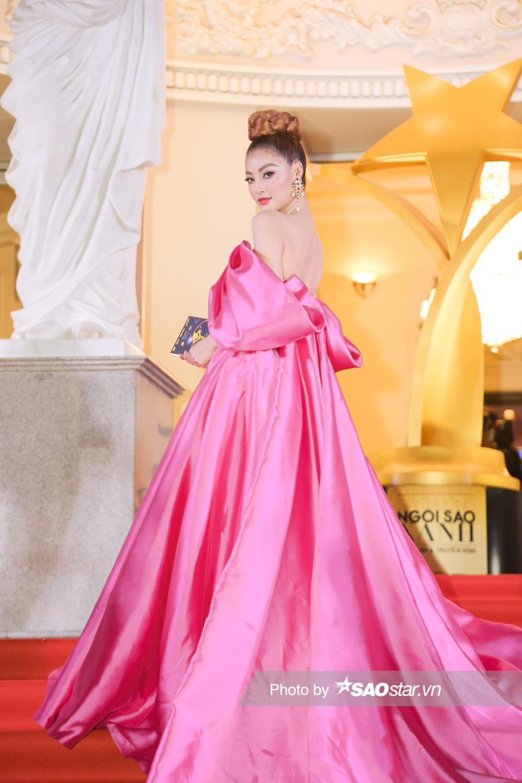 Thảm đỏ 'Ngôi sao xanh 2020': Chi Pu đọ sắc LONA cùng dàn Hoa hậu đẹp ngút ngàn của Việt Nam Ảnh 8