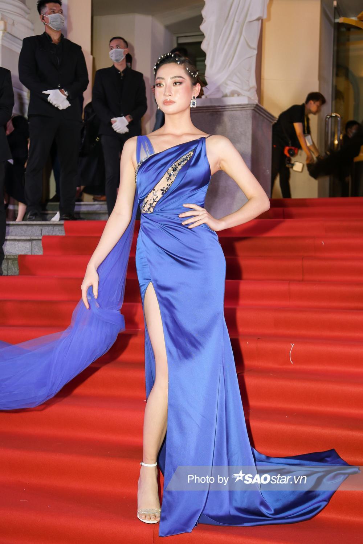 Thảm đỏ 'Ngôi sao xanh 2020': Chi Pu đọ sắc LONA cùng dàn Hoa hậu đẹp ngút ngàn của Việt Nam Ảnh 10