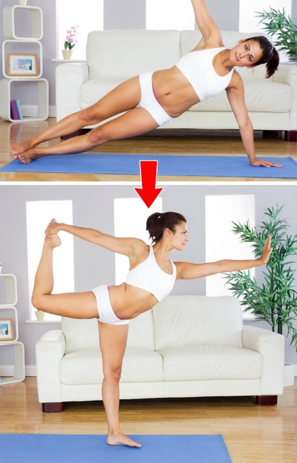 Cơ thể thay đổi thần kỳ nhờ tập plank mỗi ngày Ảnh 5