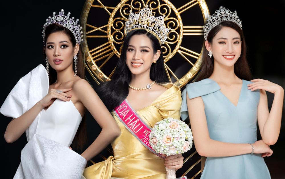 Mặt mộc của 3 hoa hậu đắt show nhất hiện nay: Em út Đỗ Thị Hà 'búng ra sữa' Ảnh 1