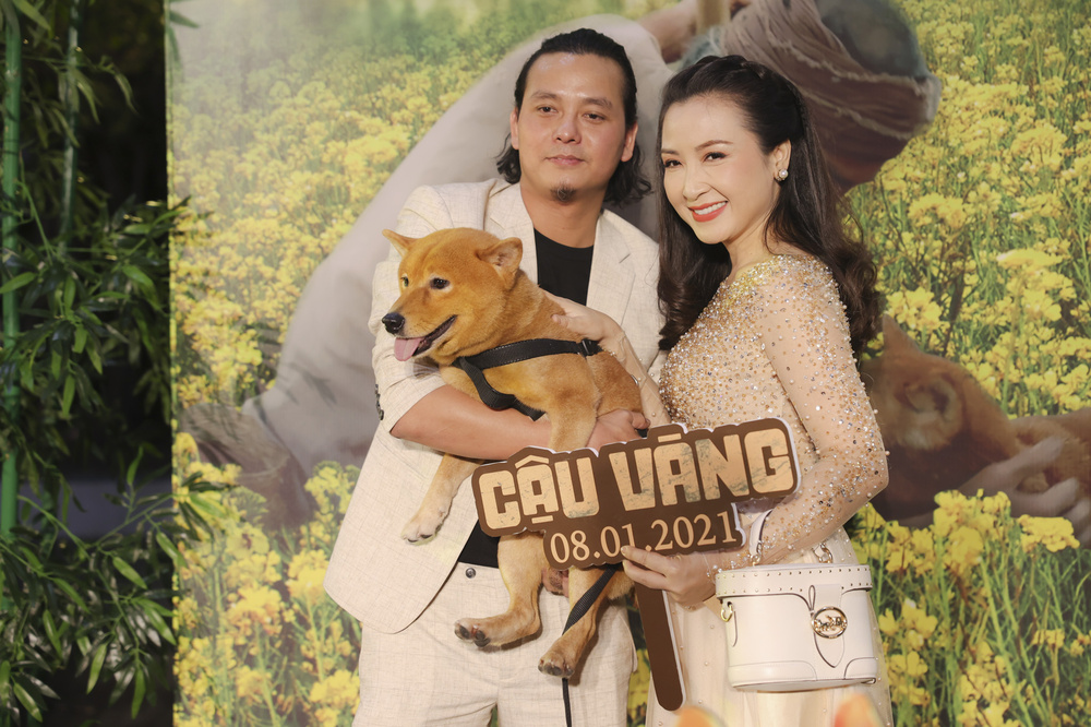 Vợ chồng Hà Tăng, Kiều Minh Tuấn cùng dàn sao Việt góp mặt trong họp báo ra mắt phim 'Cậu Vàng' Ảnh 3