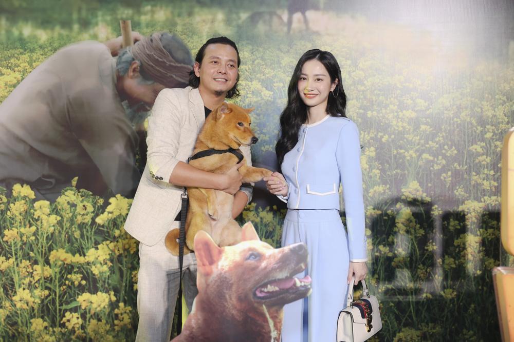 Vợ chồng Hà Tăng, Kiều Minh Tuấn cùng dàn sao Việt góp mặt trong họp báo ra mắt phim 'Cậu Vàng' Ảnh 10