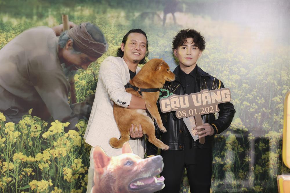 Vợ chồng Hà Tăng, Kiều Minh Tuấn cùng dàn sao Việt góp mặt trong họp báo ra mắt phim 'Cậu Vàng' Ảnh 2