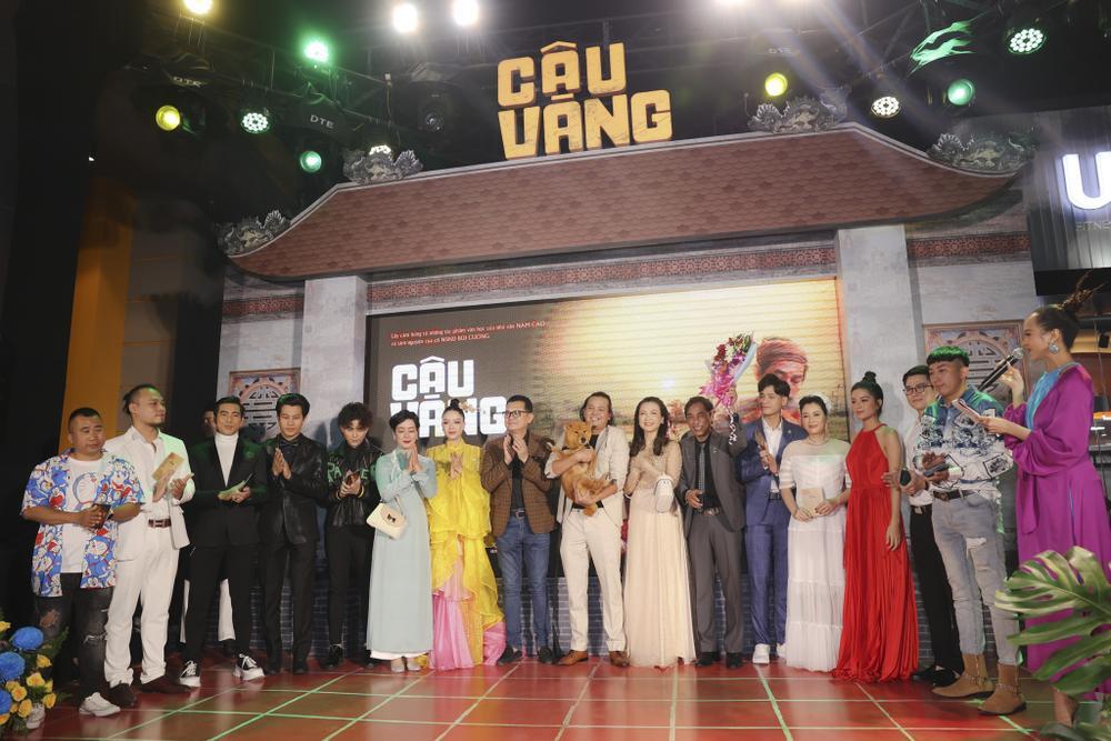 Vợ chồng Hà Tăng, Kiều Minh Tuấn cùng dàn sao Việt góp mặt trong họp báo ra mắt phim 'Cậu Vàng' Ảnh 17