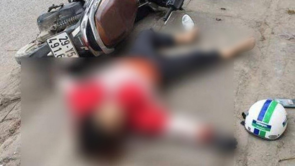 Khoảnh khắc kinh hoàng người phụ nữ bị đối tượng nam giới sát hại dã man trên đường về nhà ngoại Ảnh 1