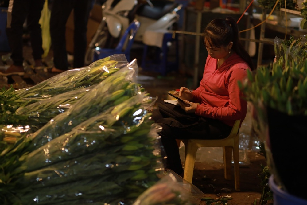 Chùm ảnh: Những con người không ngủ đón đông cùng Hà Nội Ảnh 6