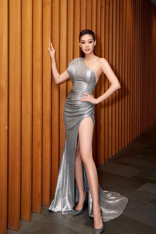 Vừa lên 'dây cót' cho Miss Universe, Khánh Vân tăng vọt gần 10kg khiến ai cũng hóng phần thi áo tắm Ảnh 6
