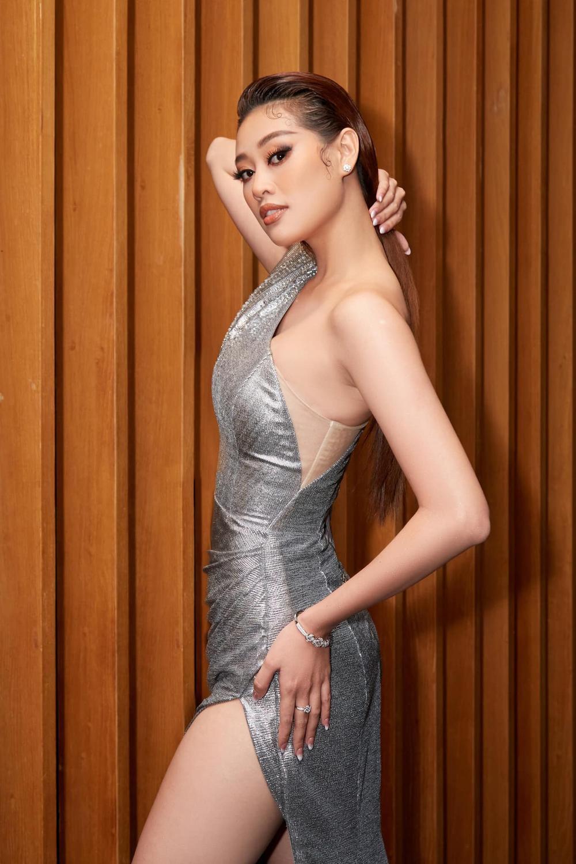 Vừa lên 'dây cót' cho Miss Universe, Khánh Vân tăng vọt gần 10kg khiến ai cũng hóng phần thi áo tắm Ảnh 7