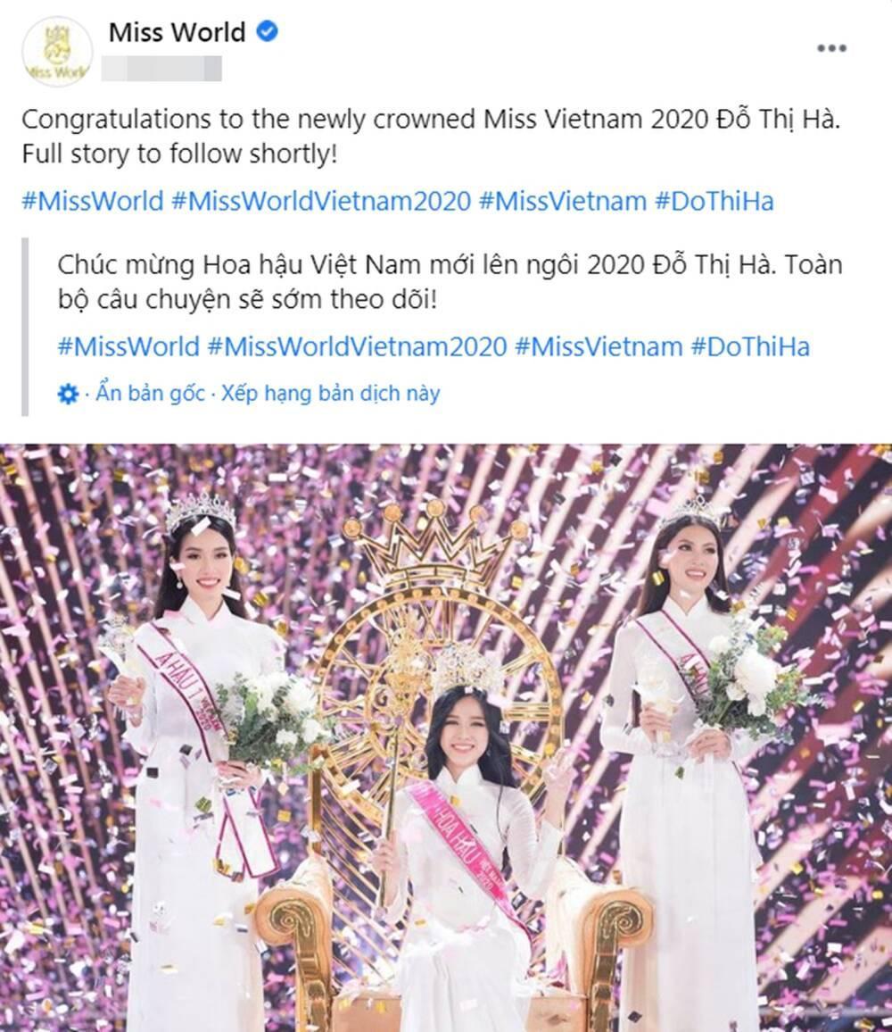 Hoa hậu Việt Nam Đỗ Thị Hà được Missosology dự đoán lọt Top 10 Miss World 2021 Ảnh 7