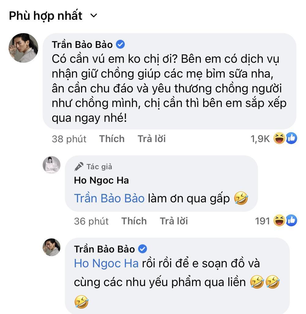 BB Trần xin việc giữ chồng Kim Lý giúp 'mẹ bỉm sữa', Hồ Ngọc Hà thuê ngay: 'Làm ơn qua gấp' Ảnh 3