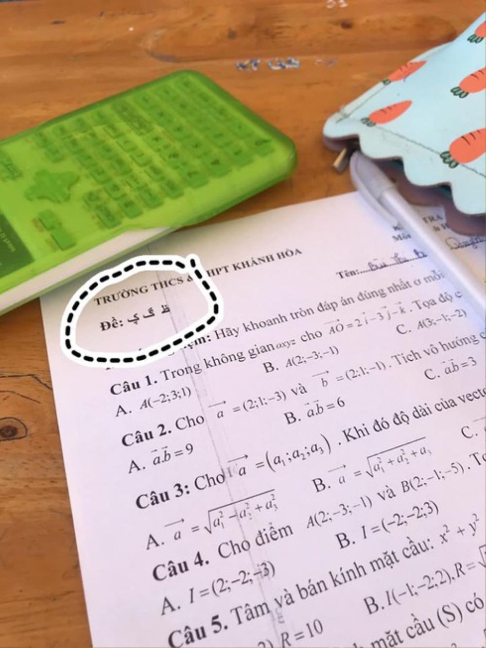 Cách đặt mã đề thi thời 4.0 khiến giới học trò 'khóc thét': Đừng mơ đến chuyện copy... Ảnh 4