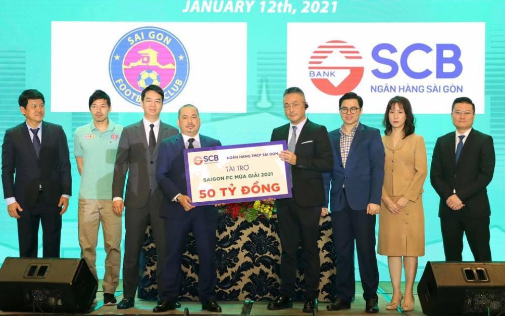 Sài Gòn FC được tài trợ hơn 100 tỷ cho mùa bóng 2021 Ảnh 1