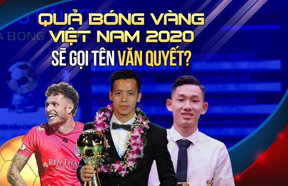 Xem trực tiếp lễ trao giải Quả bóng vàng Việt Nam 2020 Ảnh 1