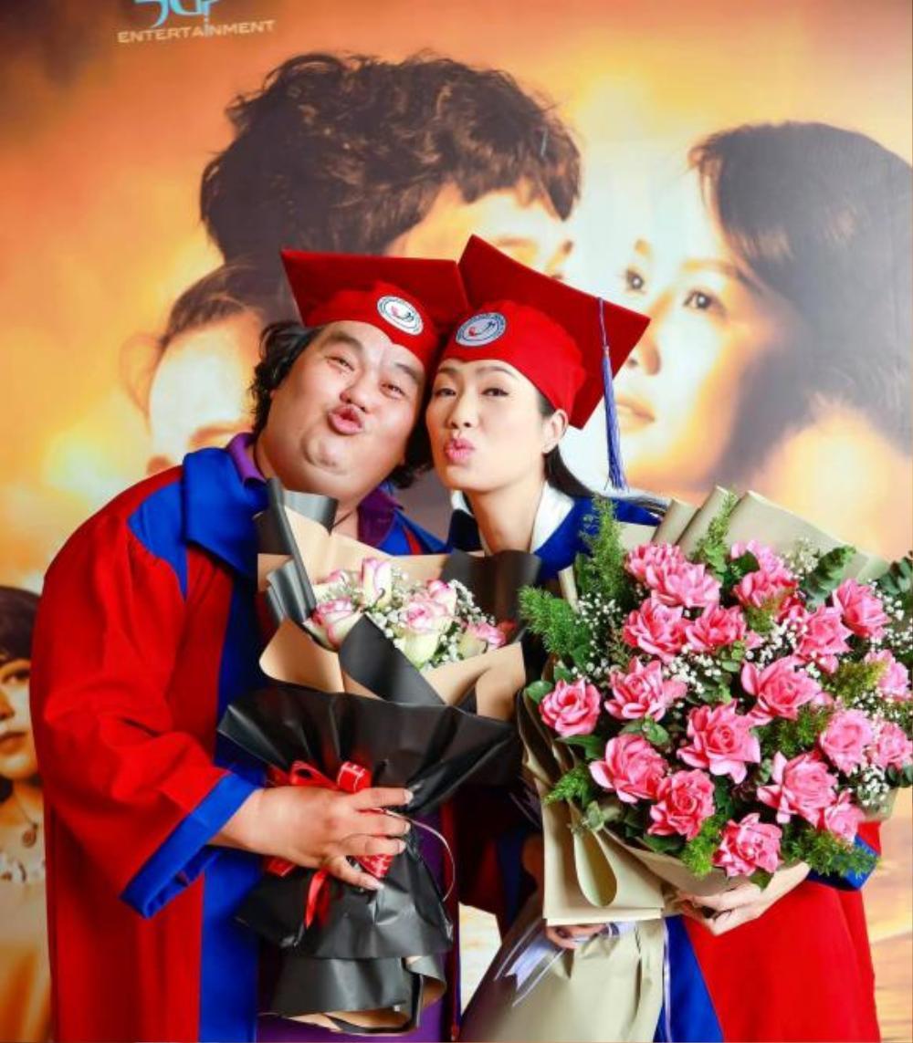 Ở tuổi 49, Á hậu Trịnh Kim Chi tốt nghiệp Cử nhân Trường đại học Sân khấu - Điện ảnh Ảnh 2