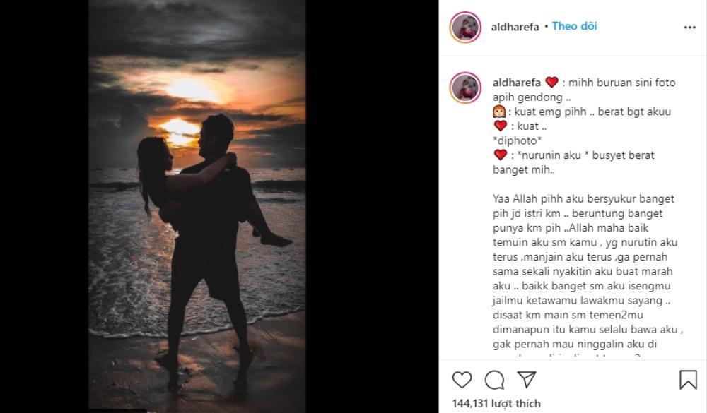 Vợ nam tiếp viên chết trong vụ máy bay rơi ở Indonesia: 'Hãy đợi em ở trên thiên đàng' Ảnh 2