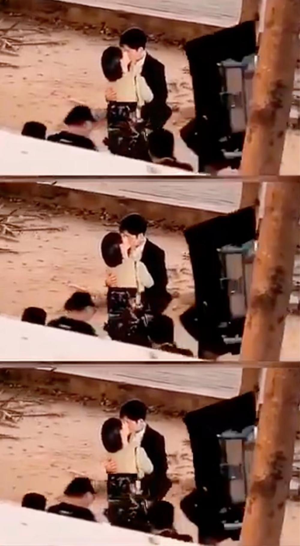 Hết chạm môi Tiêu Chiến, Dương Tử lộ ảnh hôn thắm thiết Tỉnh Bách Nhiên trong phim mới Ảnh 3