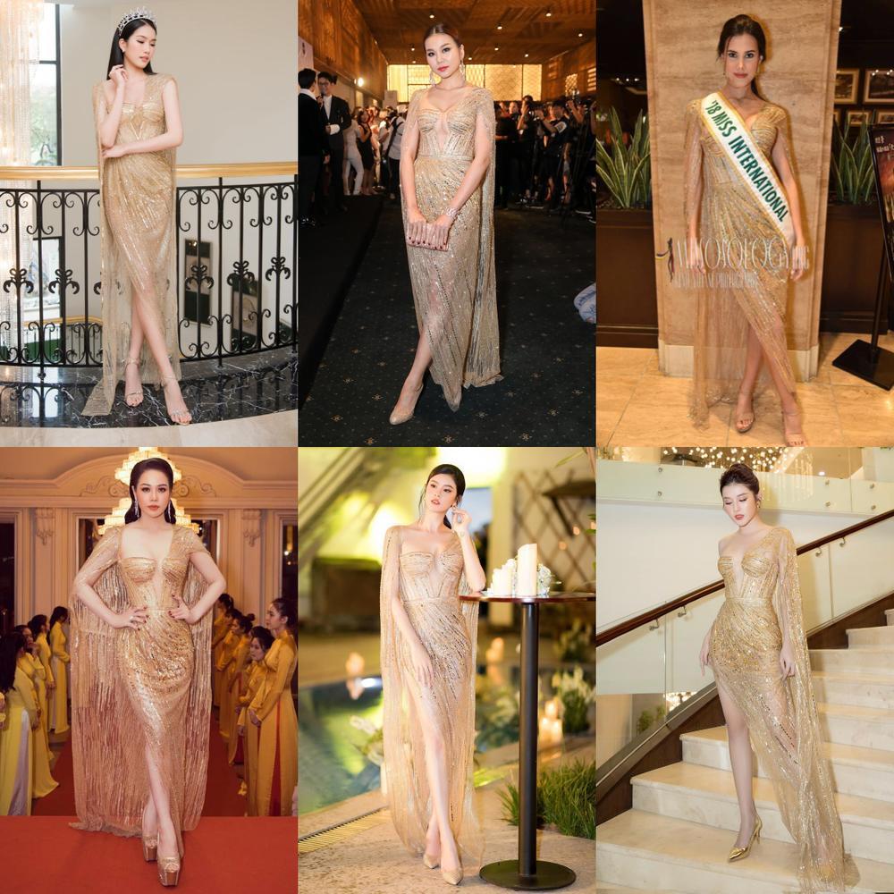 Á hậu Phương Anh đẹp vượt mặt chị đại Thanh Hằng dù đã sửa kết cấu váy, bộ đầm tạo kỉ lục mới! Ảnh 12