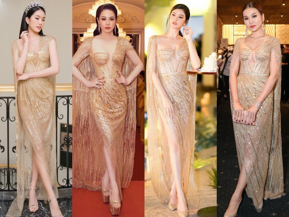 Á hậu Phương Anh đẹp vượt mặt chị đại Thanh Hằng dù đã sửa kết cấu váy, bộ đầm tạo kỉ lục mới! Ảnh 11