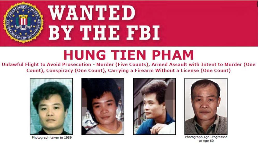 FBI treo thưởng 30.000 USD bắt nghi phạm người Việt bắn chết 5 người trong vụ thảm sát 30 năm trước Ảnh 1