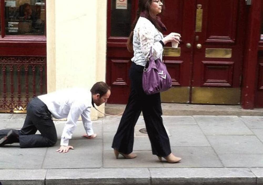 Bị bắt khi 'dắt chồng' ra đường để né lệnh giới nghiêm, người vợ quả quyết: 'Tôi chỉ đang dắt chó đi dạo' Ảnh 1