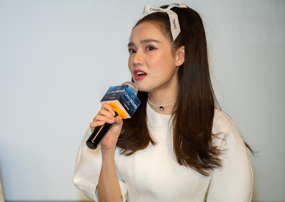 Họp báo 'Song Song': Nhã Phương ngọt ngào bên Trương Thế Vinh, Trường Giang có ghen tuông? Ảnh 11