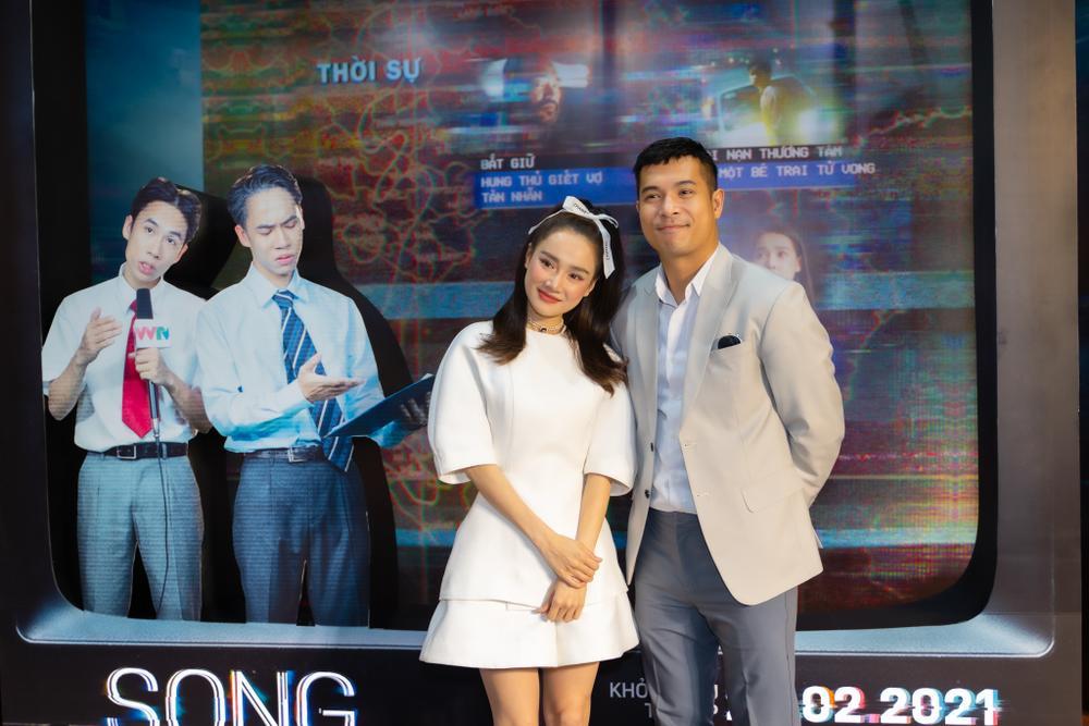 Họp báo 'Song Song': Nhã Phương ngọt ngào bên Trương Thế Vinh, Trường Giang có ghen tuông? Ảnh 16