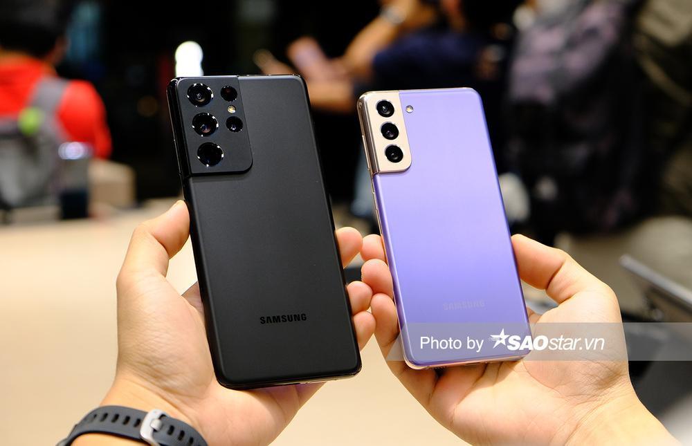 Cận cảnh series Galaxy S21 tại Việt Nam: Đẹp quá Samsung ơi! Ảnh 1