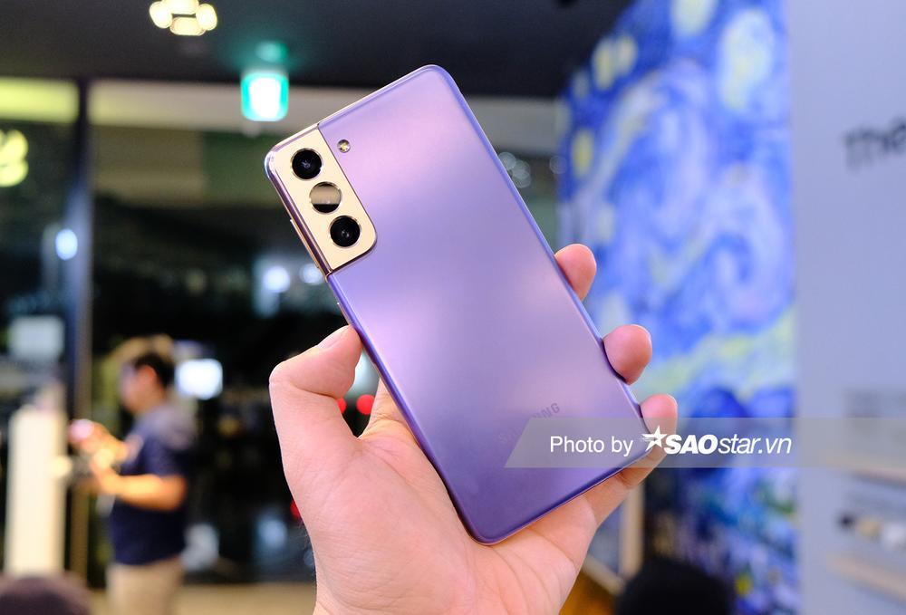Cận cảnh series Galaxy S21 tại Việt Nam: Đẹp quá Samsung ơi! Ảnh 2