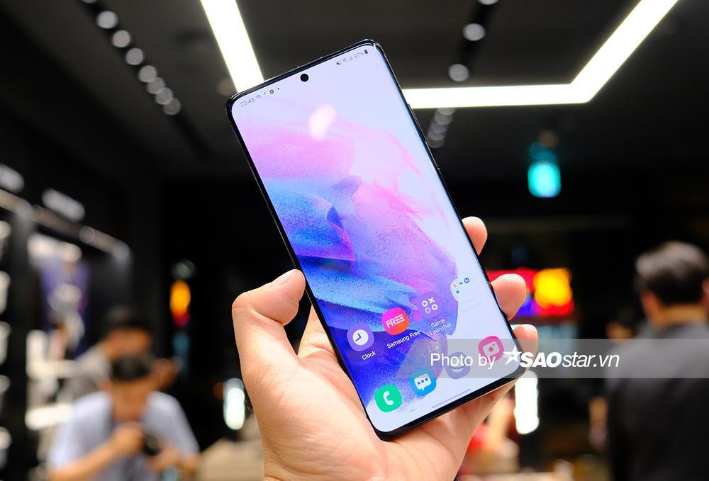 Cận cảnh series Galaxy S21 tại Việt Nam: Đẹp quá Samsung ơi! Ảnh 10