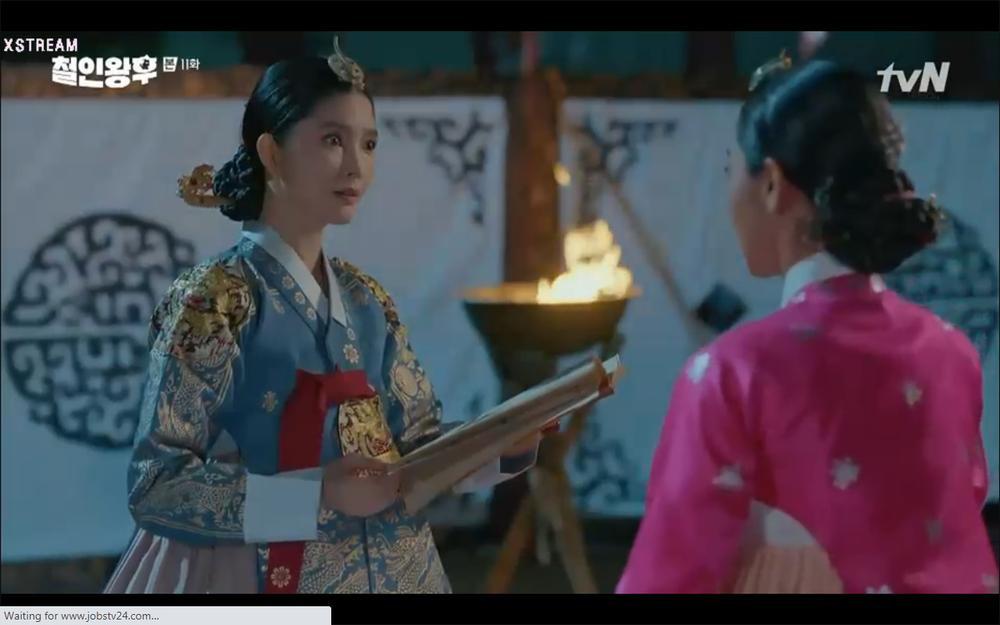 'Mr. Queen' tập 11: Shin Hye Sun tá hỏa vì tình địch thẳng tay ám sát, Kim Jung Hyun bị lộ thân phận Ảnh 2
