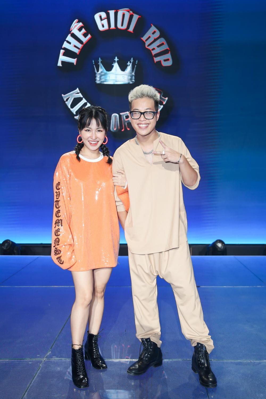 King Of Rap 'nhá hàng' mùa 2: Ma cũ đòi bắt nạt ma mới, Trang Moon muốn thử làm rapper? Ảnh 3