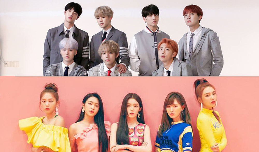 Không hẹn mà gặp, BTS và Red Velvet cùng 'rinh' về thành tích Youtube mới Ảnh 1