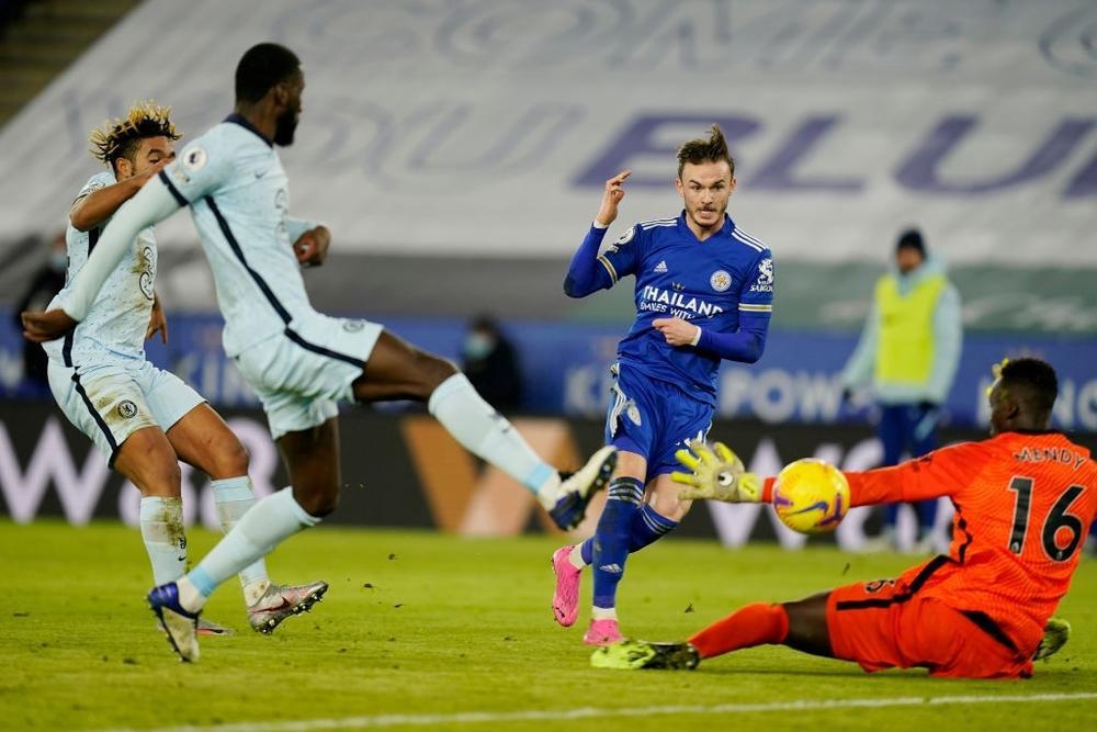 Man Utd mất ngôi đầu bảng vào tay Leicester Ảnh 3