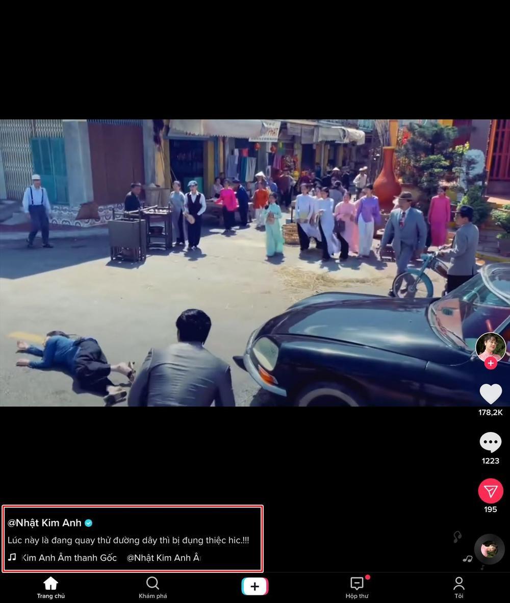 Nhật Kim Anh bị xe đụng lúc quay phim Ảnh 1
