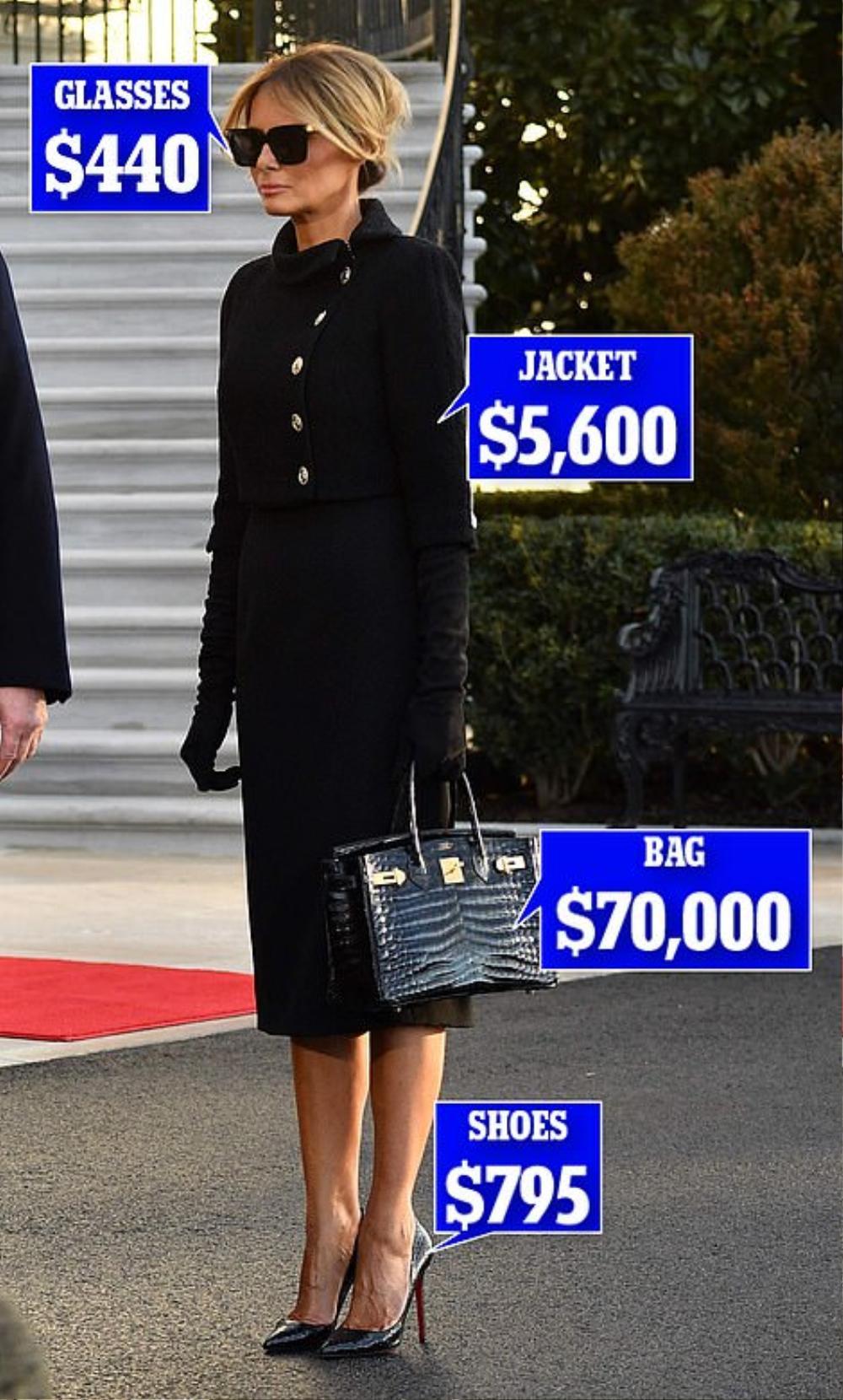 Tân Đệ nhất phu nhân Mỹ Jill Biden và Melania Trump 'so kè' trang phục cực gắt tại lễ nhậm chức Ảnh 10