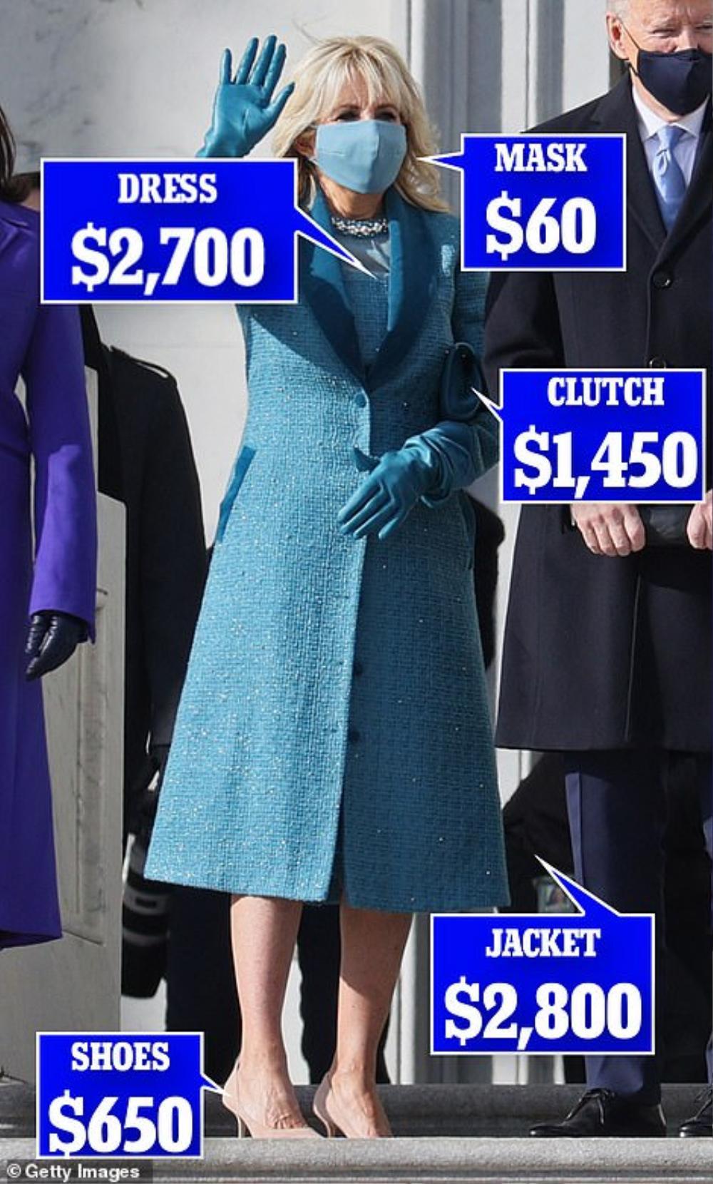 Tân Đệ nhất phu nhân Mỹ Jill Biden và Melania Trump 'so kè' trang phục cực gắt tại lễ nhậm chức Ảnh 5