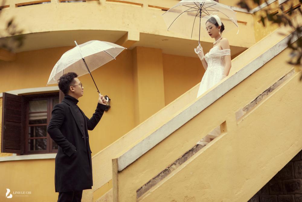 Á Hậu Thúy An hé lộ ảnh cưới lung linh tại Đà Lạt: Cô dâu nhan sắc rạng ngời, chú rể điển trai phong độ Ảnh 18
